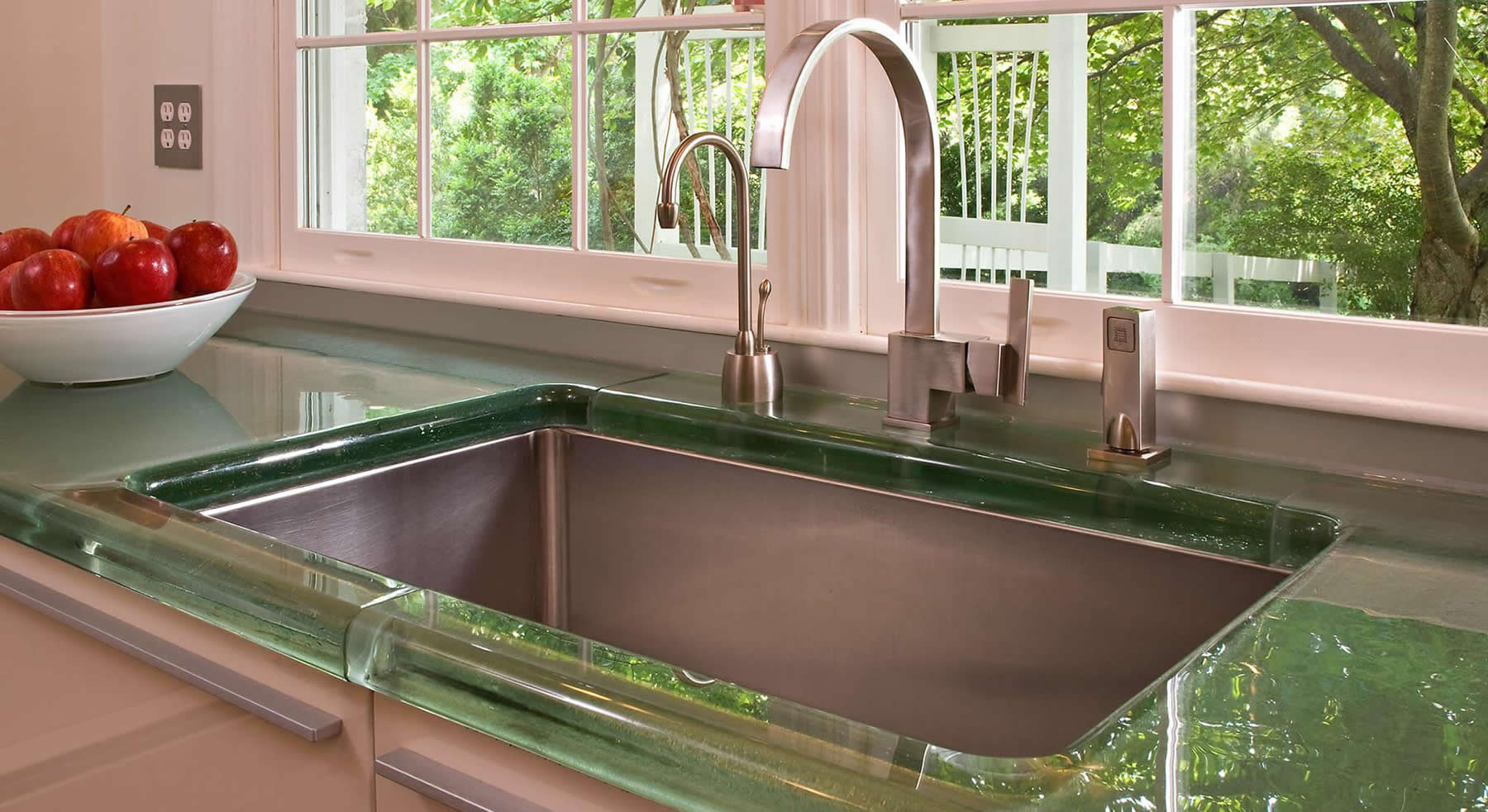 Thick Glass Designs | Countertops, Bars, Islands, and Tabletops