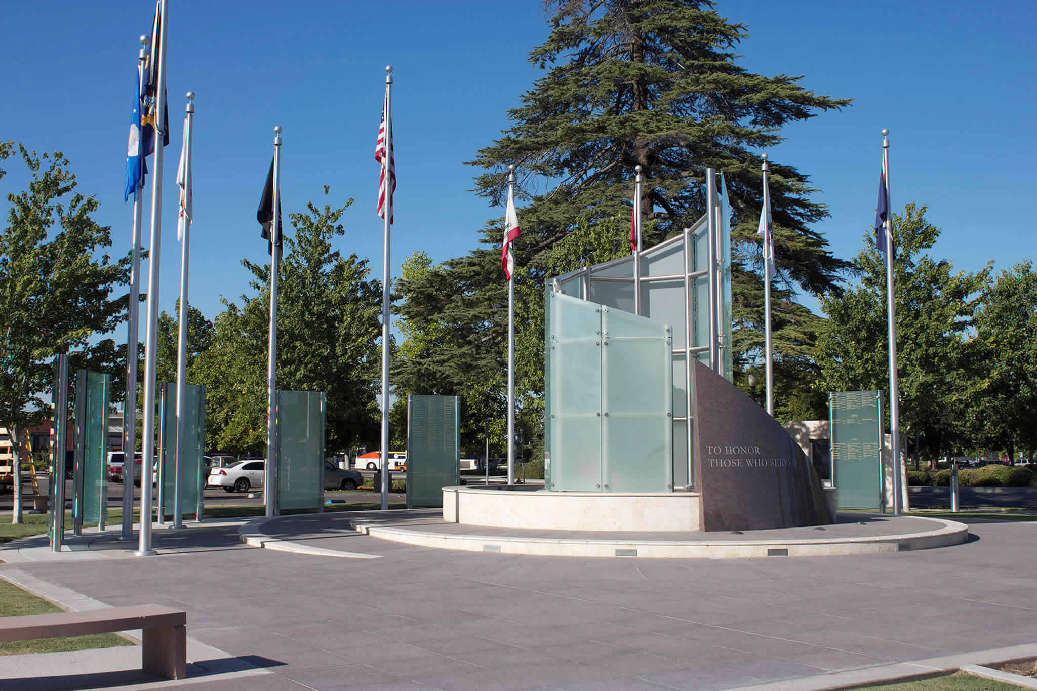 Outdoor Installations for Memorials, Business Signage, Parking Structures, and Public Art
